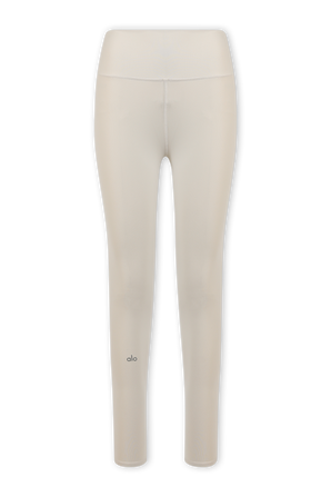High Waist Airbrush Legging 7/8 in Bone ALO YOGA
