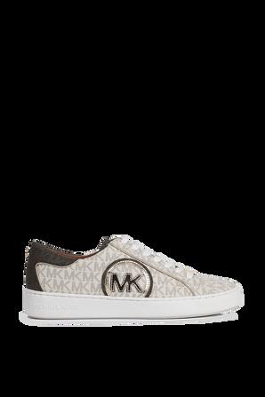 נעלי סניקרס ג'ט סט בצבע לבן MICHAEL KORS