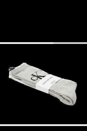 Logo Socks in grey CALVIN KLEIN