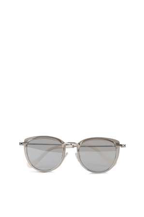 Metal Sunglasses in Silver MONCLER