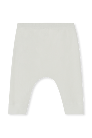 גילאי NB-12 חודשים מכנסי ריב ארוכים בלבן PETIT BATEAU