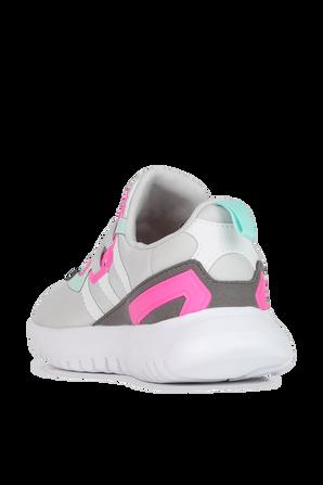 Originals Flex Shoes in Grey and Pink ADIDAS ORIGINALS