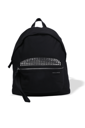 Studded Backpack in Black DSQUARED2