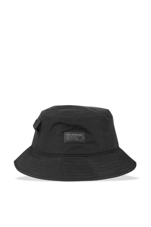 Pocketed Bucket Hat in Black LEVI`S