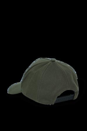 Logo Baseball Cap in Green MONCLER