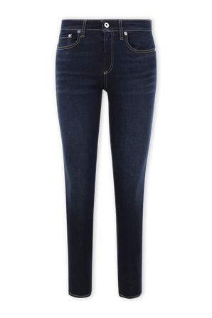 Cate Mid Rise Ankle Skinny Jeans in Carmen RAG & BONE