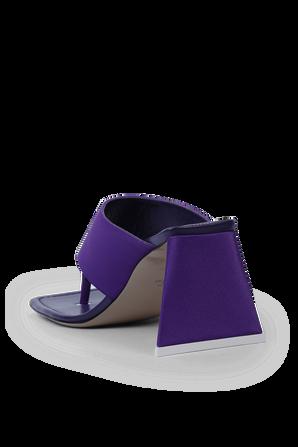 Devon thong Sandals in Purple THE ATTICO