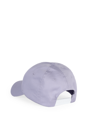 Monogram Cotton Cap In Lilac CALVIN KLEIN
