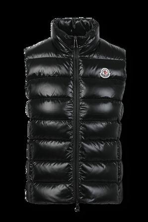 מעיל וסט גאני בגוון שחור MONCLER