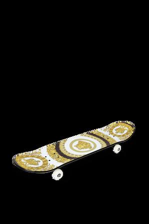 Printed Skateboard VERSACE