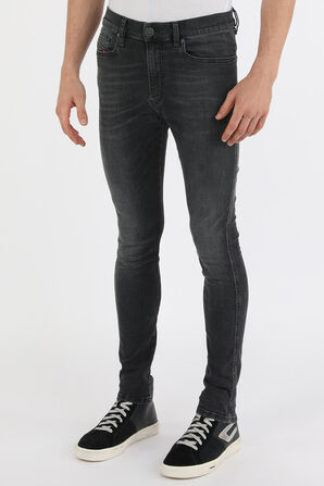 מכנסי סקיני ג'ינס בשטיפה כהה DIESEL