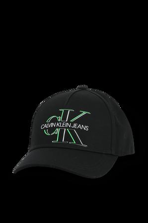 Logo Cap in Black CALVIN KLEIN