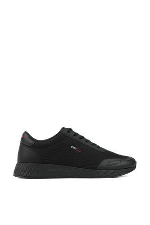 Flexi Mesh Trainers In Black TOMMY HILFIGER