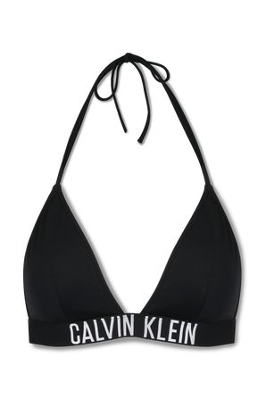 Intense Power -Traingle Bikini Top in Black CALVIN KLEIN