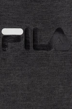 גילאי NB -12 חודשים בגד גוף שרוול ארוך בשטיפת וינטג כחולה  עם לוגו FILA
