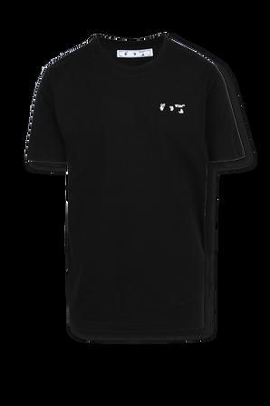Slim Fit Logo Tee in Black OFF WHITE
