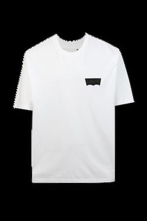 חולצת לוגו בצבע לבן LEVI`S
