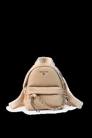 Slater Large Logo Backpack in Camel MICHAEL KORS