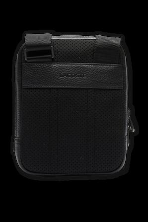Premiym Belt Bag in Black Leather LACOSTE