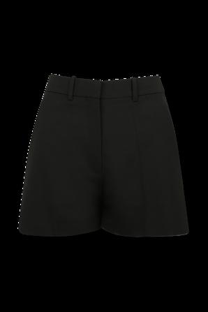 Techno Toile Shorts in Black VALENTINO