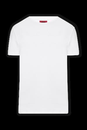 2P Cotton Shirt in White HUGO