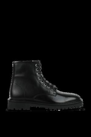 Leather Shoose in Black IRO