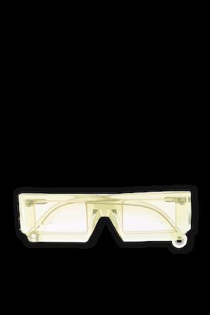 Les lunettes Soleil in Green JACQUEMUS