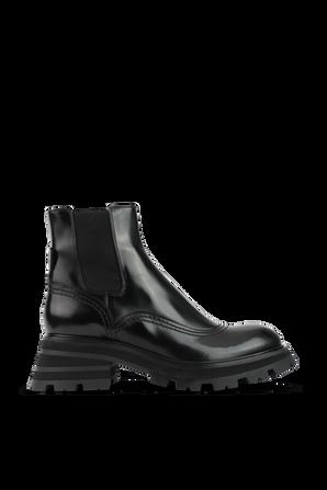 Wander Chelsea Boots in Black ALEXANDER MCQUEEN