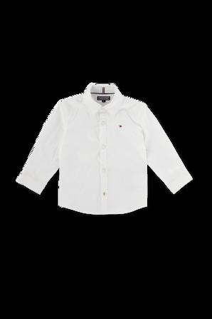 Slim Fit Stretch Shirt - Babies TOMMY HILFIGER KIDS