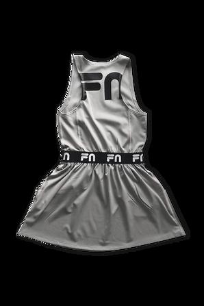 Fila x Nununu Ages 6-14 Tennis Dress in Grey FILA NUNUNU