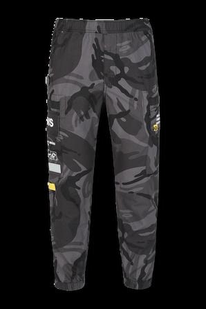 Woven Cargo Pants in Black AAPE