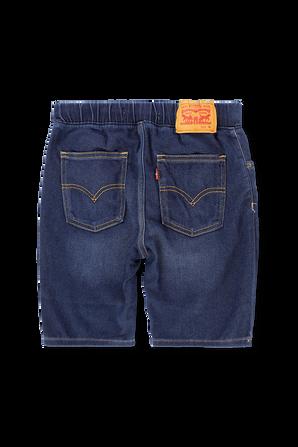 גילאי 2-4 מכנסי גינס קצרים בשטיפה כהה LEVI`S KIDS