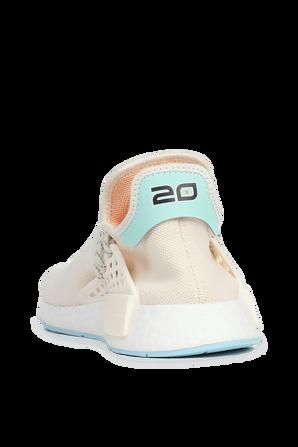 Adidas x Pharell Williams Nmd Hu in White ADIDAS ORIGINALS