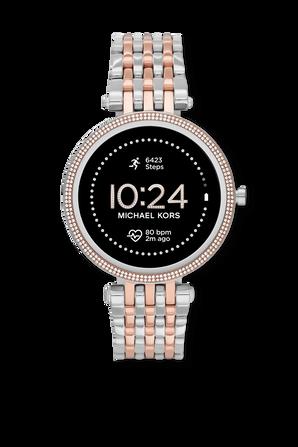 שעון חכם דור 5 בגוון רוז גולד וכסוף MICHAEL KORS