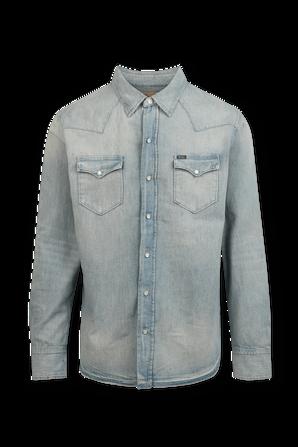 Authentic Denim Western Shirt in Light Blue Wash POLO RALPH LAUREN
