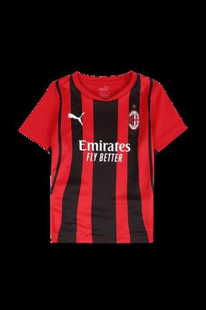גילאי 2-6 מארז כדורגל מילאן בית בגווני אדום ושחור PUMA KIDS