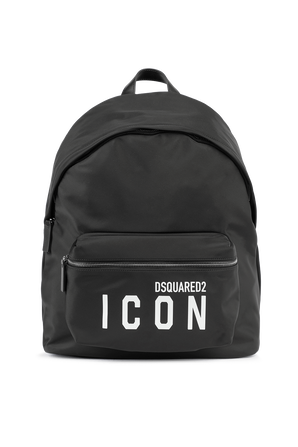 Logo Backpack in Black DSQUARED2