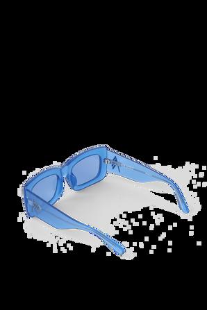 Mafra Sunglasses in Blue THE ATTICO
