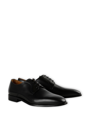 Classic Derby Shoes in Black BOSS