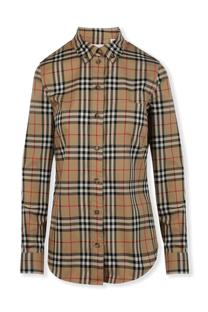 Vintage Check Buttoned Down Shirt BURBERRY