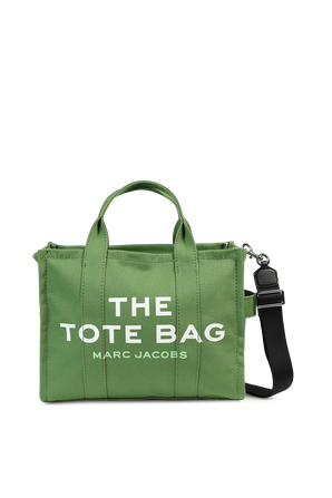 The Small Traveler Tote Bag in Green MARC JACOBS