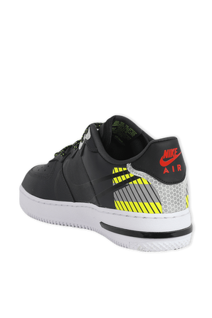 Nike Air Force 1 React LX in Black and Yellow NIKE