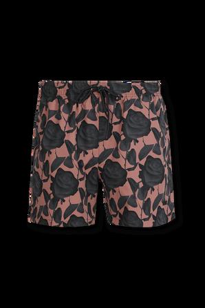 Quick-dry swim shorts in Light Brown HUGO