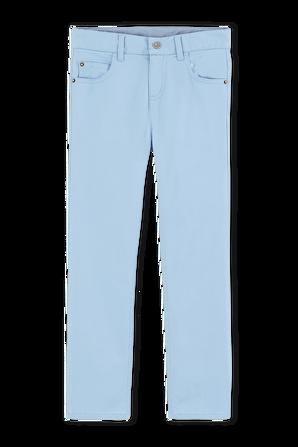 גילאי 3-5 מכנסיים ארוכים בגוון תכלת PETIT BATEAU