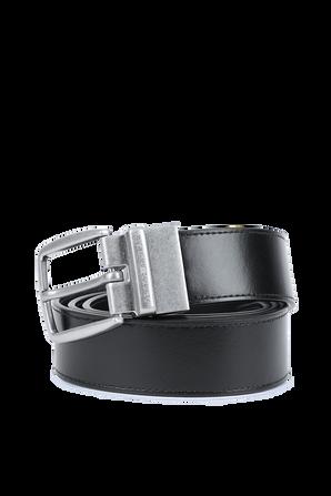 Reversible Buckle Belt in Black and Blue TOMMY HILFIGER