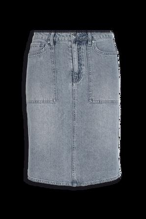 Pencil Knee Length Skirt Denim ARMANI EXCHANGE