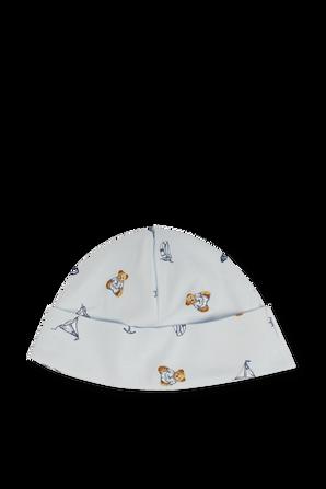 כובע תינוקות בתכלת One Size POLO RALPH LAUREN KIDS