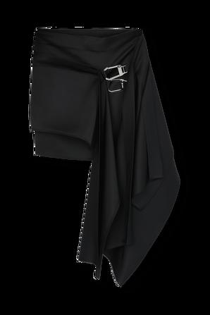 Gonna Mini Skirt in Black THE ATTICO