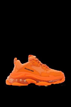 Triple S Sneakers in Orange BALENCIAGA