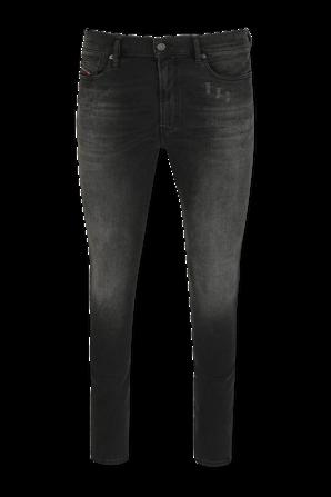 Mid Rise Skinny Jeans in Black DIESEL